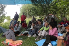 Беседа на фестивале Жизниград 2015